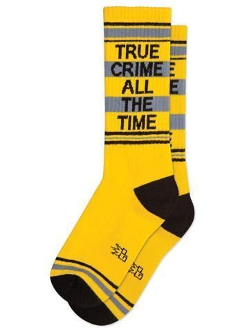 True Crime All The Time Socks