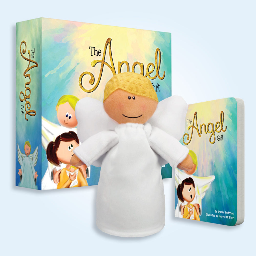 The Angel Gift Book and Plush Set