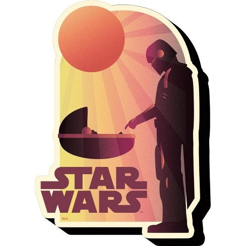 Star Wars The Child Sunset Magnet