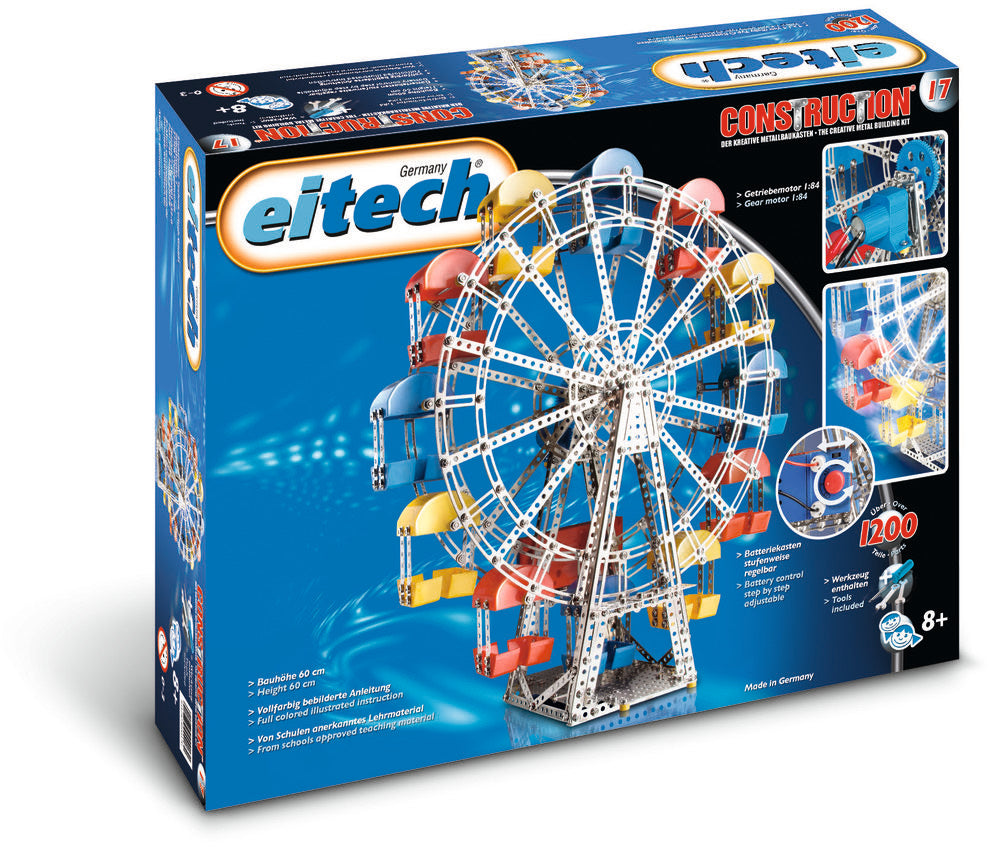 eitech Exclusive Series Motorized Ferris Wheel - 1200+ pieces