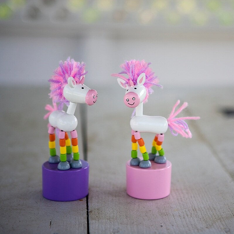 Unicorn Push Puppets