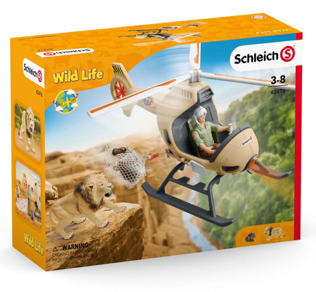Schleich Animal Helicopter