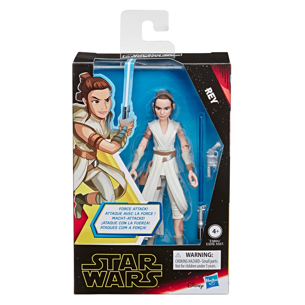 Star Wars Galaxy of Adventures Rey 5-Inch-Scale Action Figure Toy