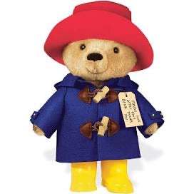 Paddington Plush Bear