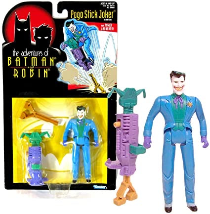 1995 The Joker with Power Launcher from the Adventures of Batman and Robin