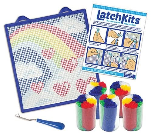 Latch Kits Rainbow Mini-Rug