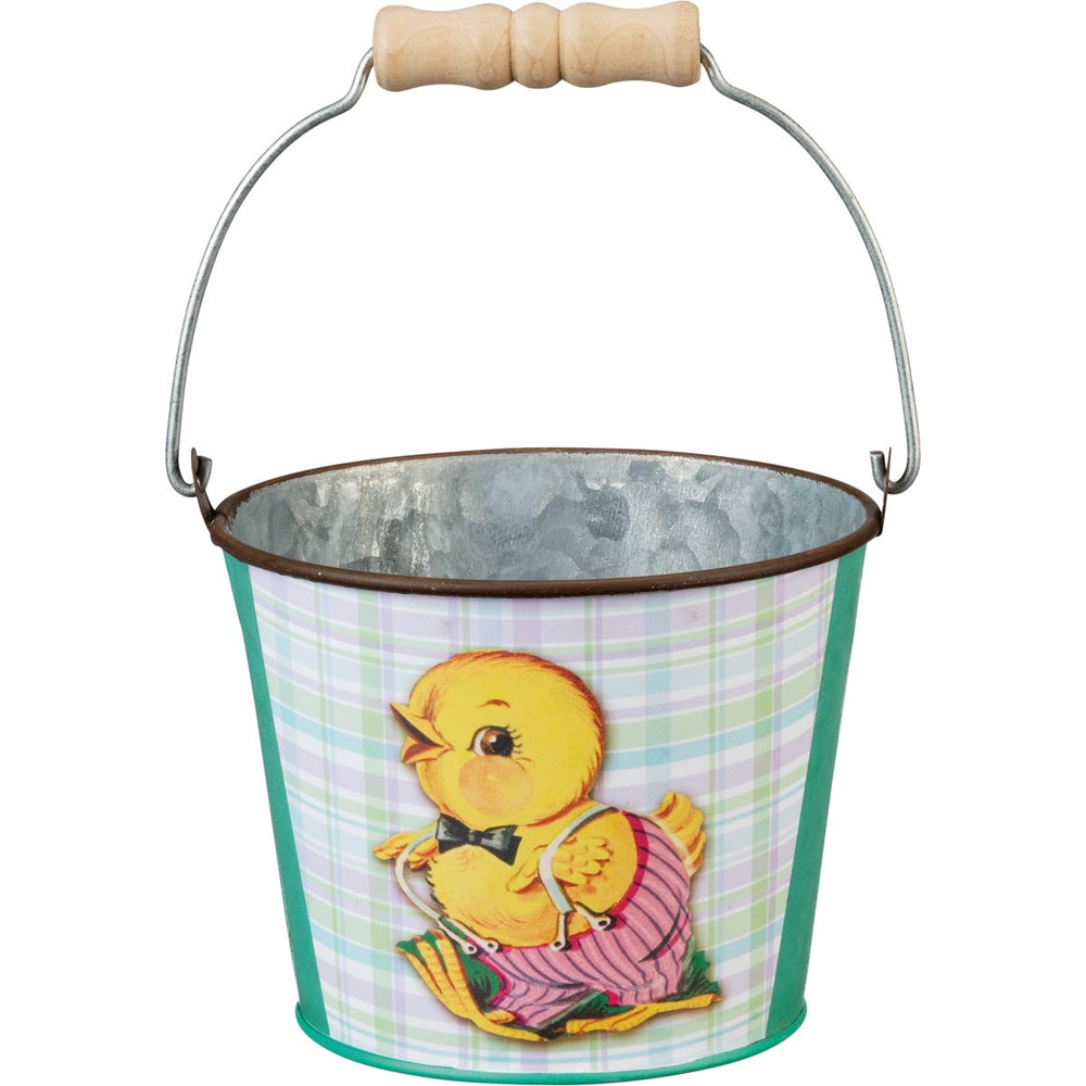Tin Easter Pail - Chick - PK54