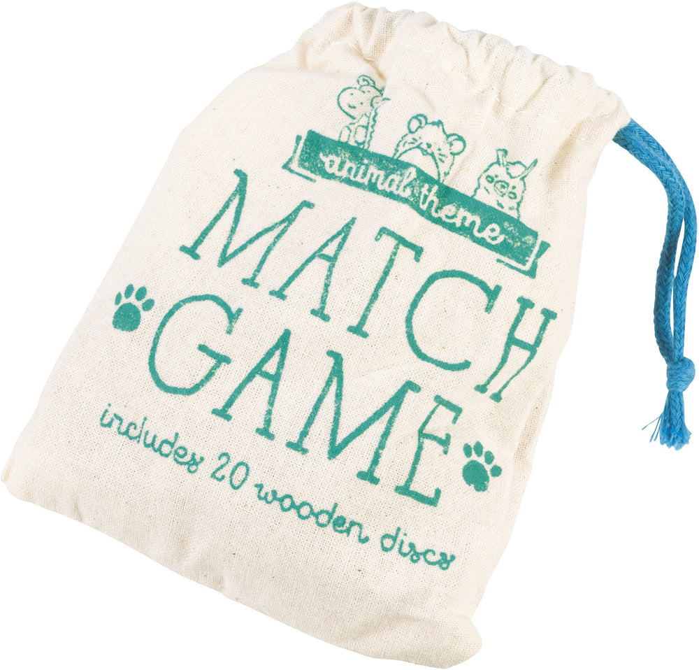 Wooden Match Game