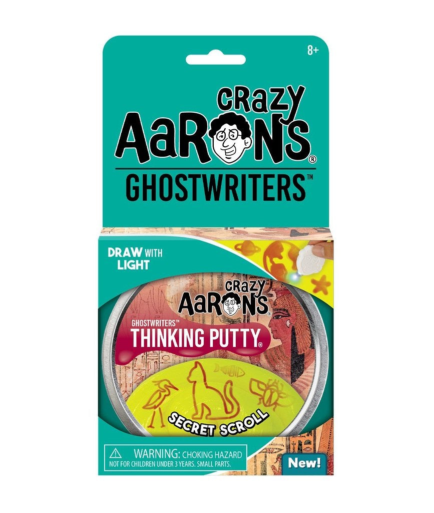 Ghostwriters Thinking Putty in Secret Scroll