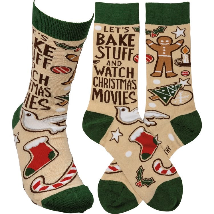 Socks - Let's Bake Stuff And Watch Movies