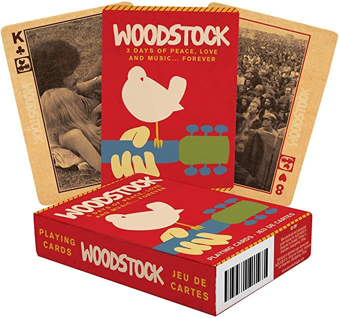 Woodstock Playing Cards