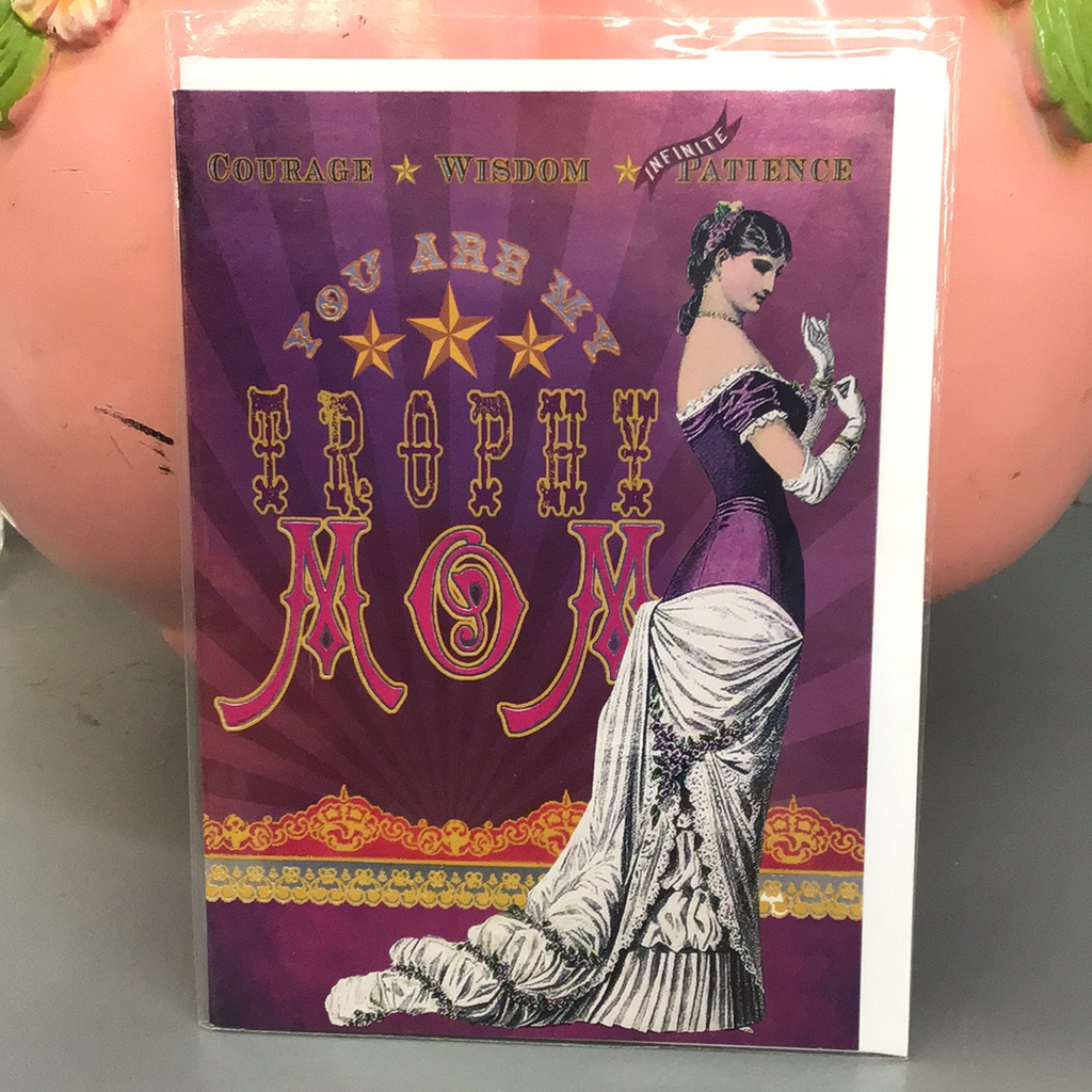 Trophy Mom - Mother's Day Card