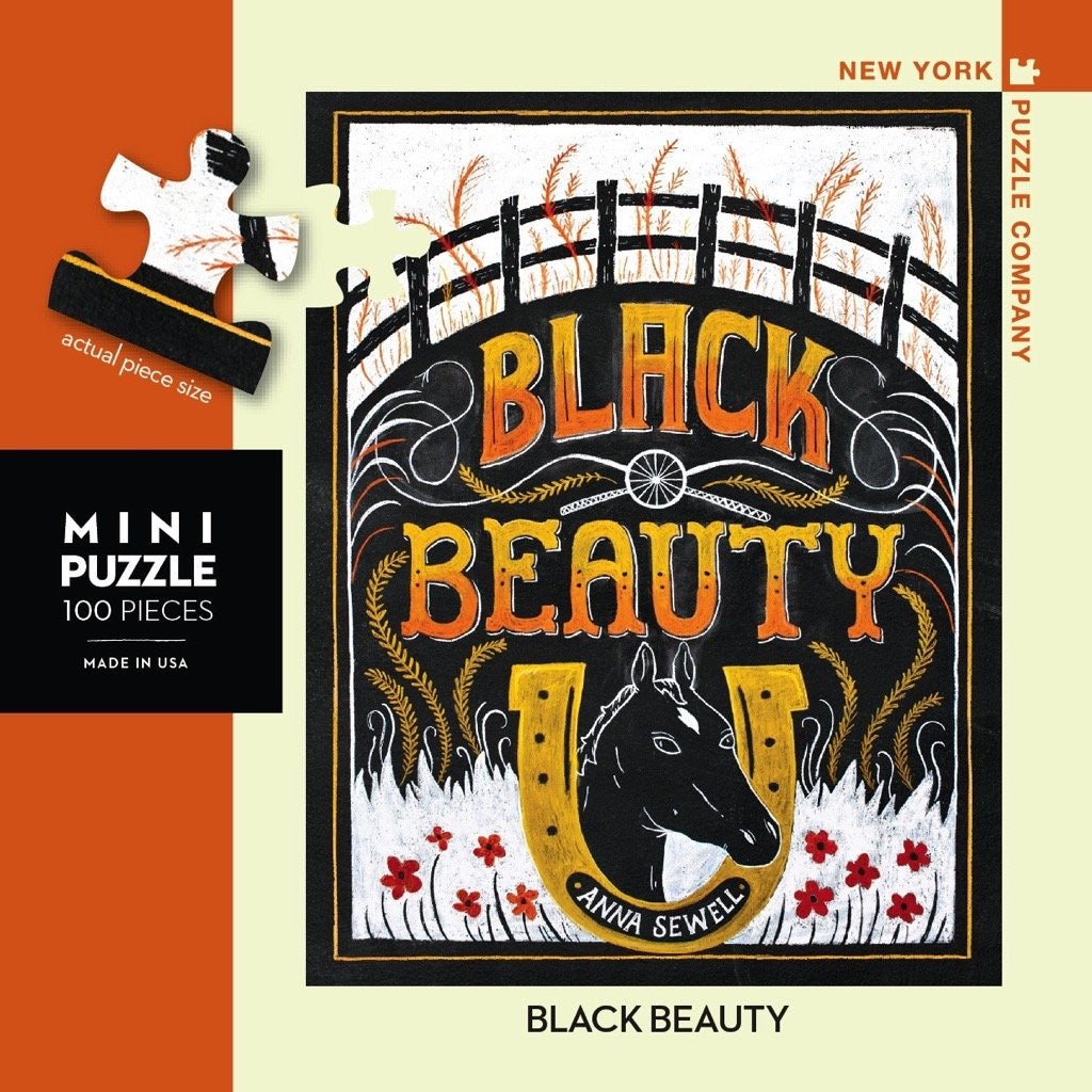 Black Beauty 100 Piece Mini Puzzle