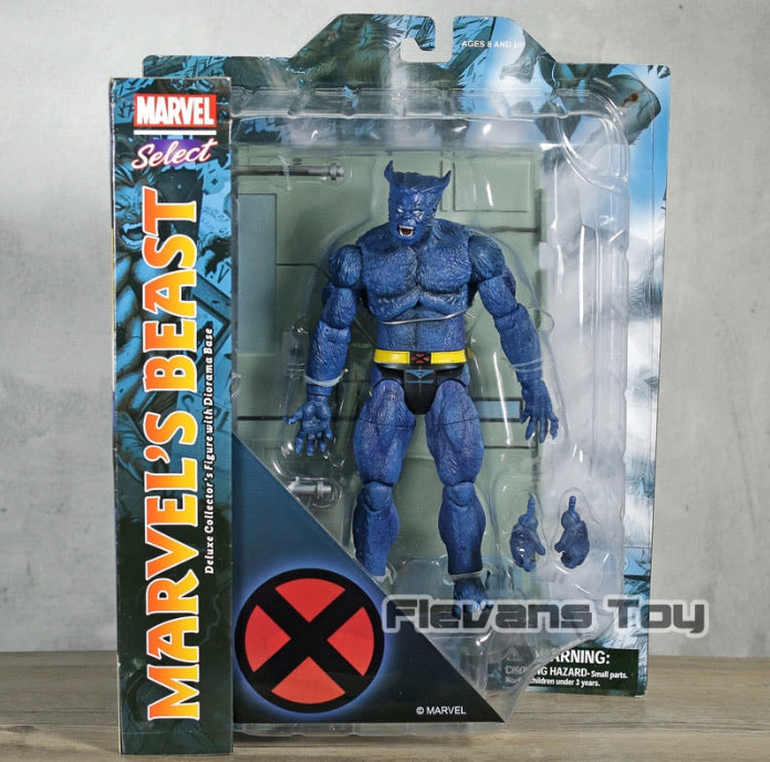 Marvel Select Beast Collectable Action Figure