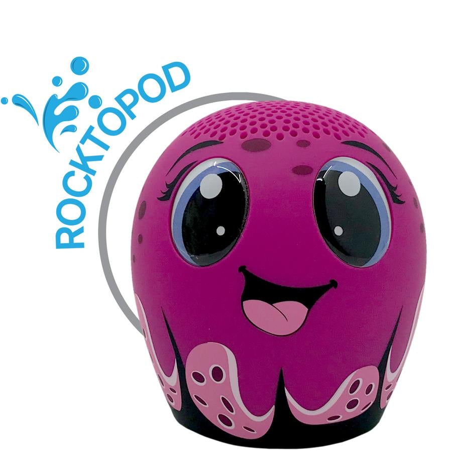 ROCKTOPOD the Octopus Splash! Pet Audio Speaker