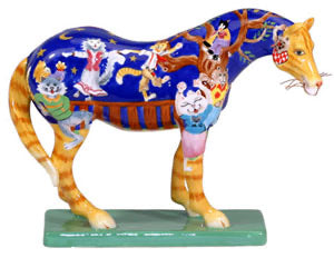 Kitty Cat's Ball Painted Pony 1585