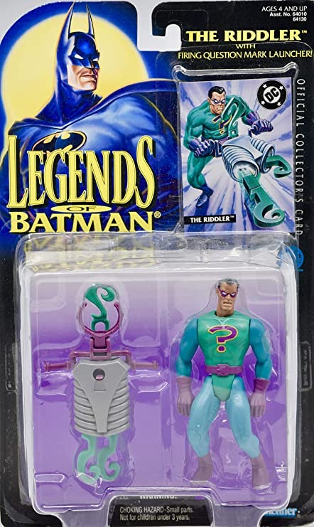 1995 The Riddler with Firing Question Mark Launcher from the Legends of Batman