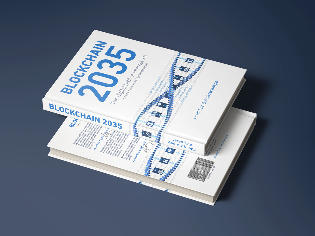 Blockchain 2035 Signed Hardcover - Pre-Order