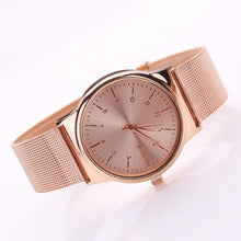 Load image into Gallery viewer, Classical Women's Rose Gold Watch