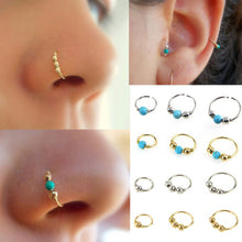 Load image into Gallery viewer, Stainless Steel Nose Ring Nostril Hoop