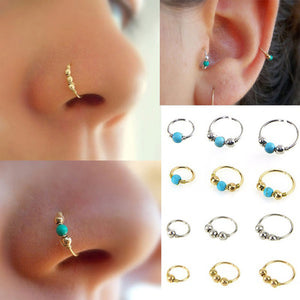 Stainless Steel Nose Ring Nostril Hoop