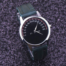 Load image into Gallery viewer, Analog Quartz Leather Band Wrist Watch