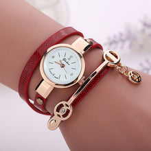 Load image into Gallery viewer, Leather Bracelet Quartz Watch