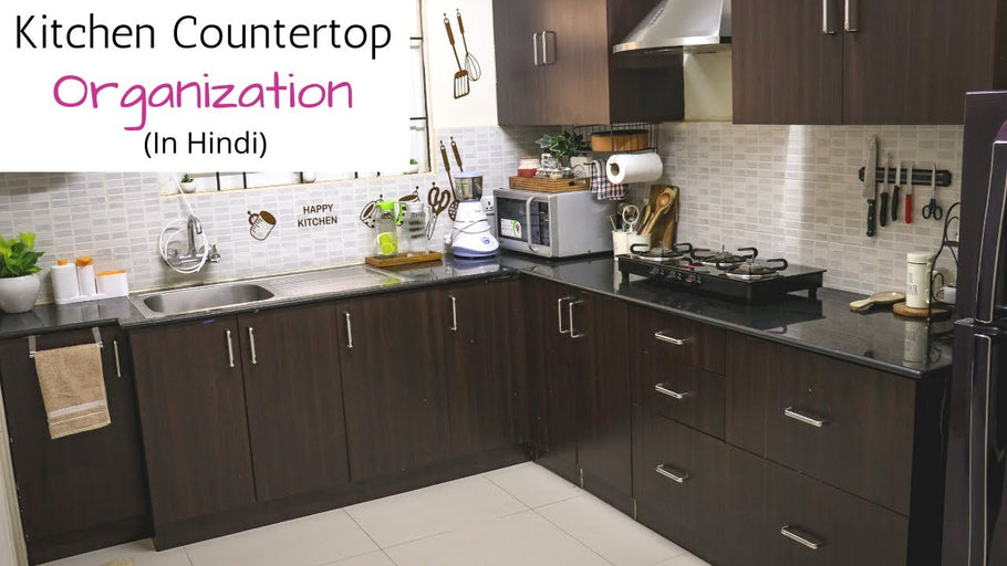 Hello friends, In today's video I have shared few ideas to organize small kitchen counter top