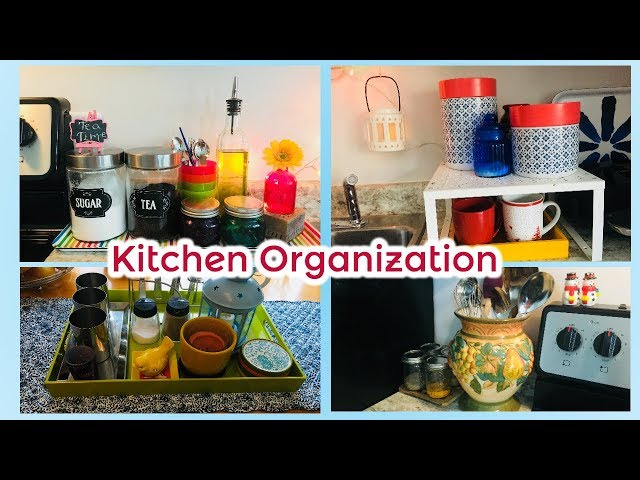 Budget-Friendly Kitchen Organization I Easy Kitchen Countertop Organization This video is all about my small Kitchen organization tips and ideas, how to ...
