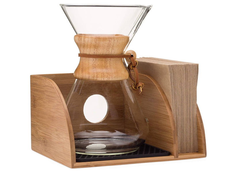 Chemex Coffee Maker Organizer by Drip & Brew Coffee Company