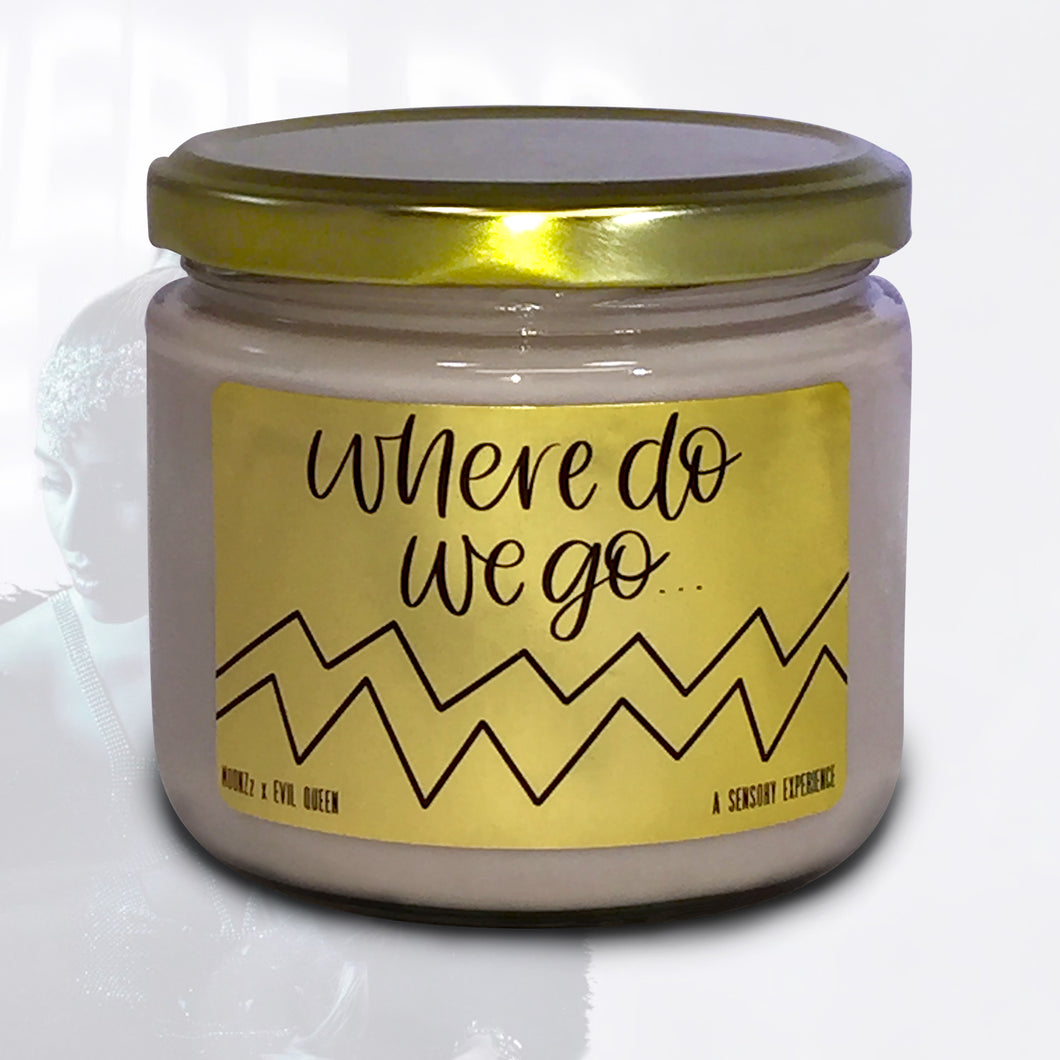 'Where Do We Go' Candle