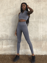 Load image into Gallery viewer, ZINNIA LEGGING - COOL GREY
