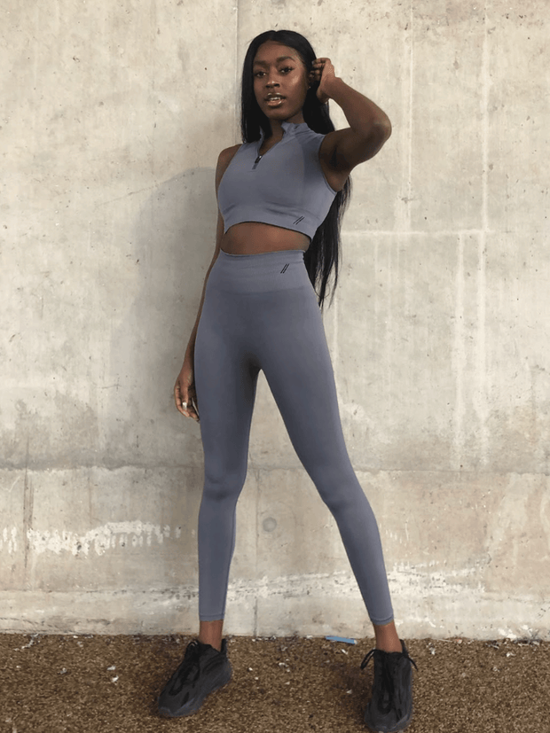 ZINNIA LEGGING - COOL GREY