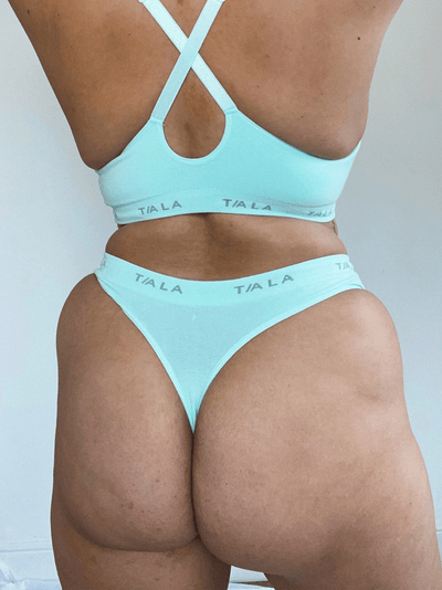 LILA THONG - MINT GREEN