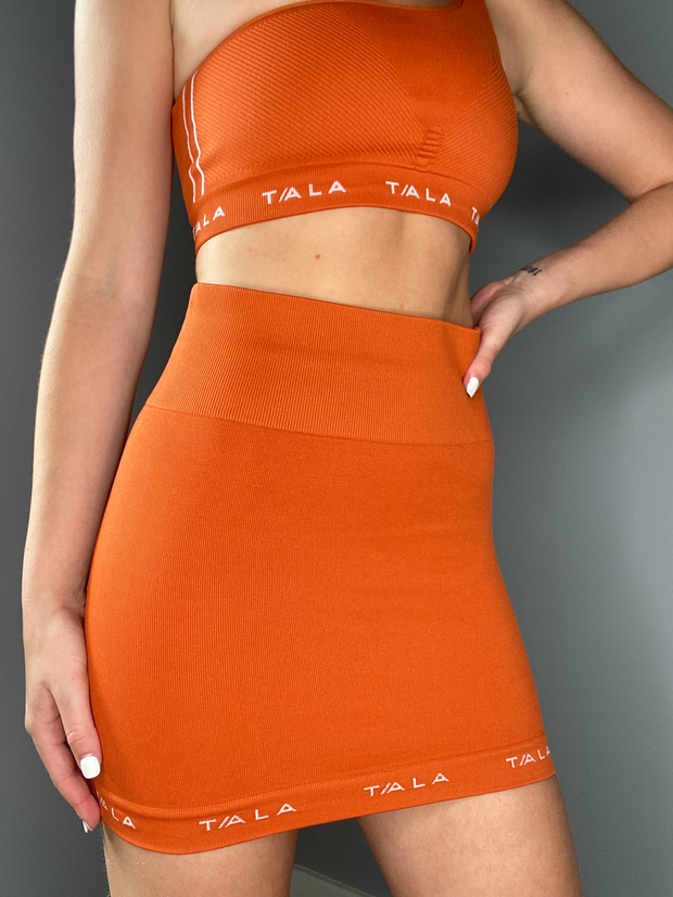 SOLAR SKIRT - BURNT ORANGE