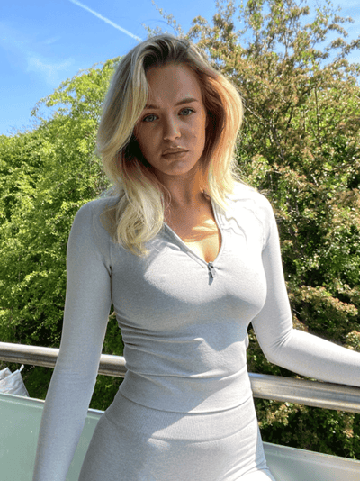ASTER FULL LENGTH TOP - GREY