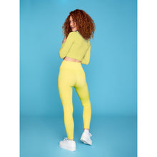 Load image into Gallery viewer, ZINNIA LEGGING - PALE YELLOW