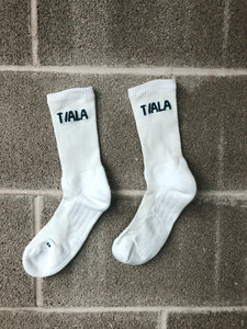 REGULAR SOCK, NAVY BRANDING, TRIPLE PACK