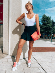 FUSE TENNIS SKIRT - BLACK