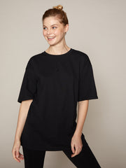 ISLA LOOSE TEE - BLACK