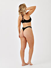 LILA THONG - BLACK