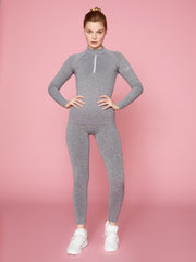 LUNA LEGGING - GREY MARL