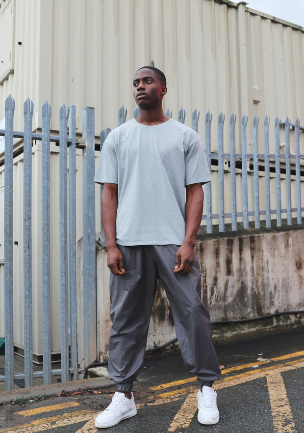 ISLA LOOSE TEE - GREY