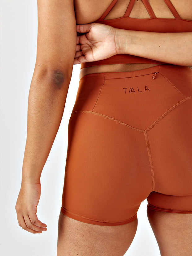 SKINLUXE™ SHORTS - COPPER