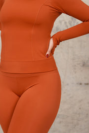 SKINLUXE™ FULL LENGTH TOP - COPPER