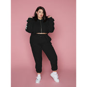IVY TRACKIES - BLACK