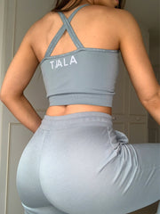 AVA LIGHT-WEIGHT TRACKIES - SKY
