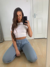 Load image into Gallery viewer, AVA LIGHT-WEIGHT TRACKIES - SKY