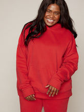 Load image into Gallery viewer, VENUS OVERSIZED HOODIE - RED