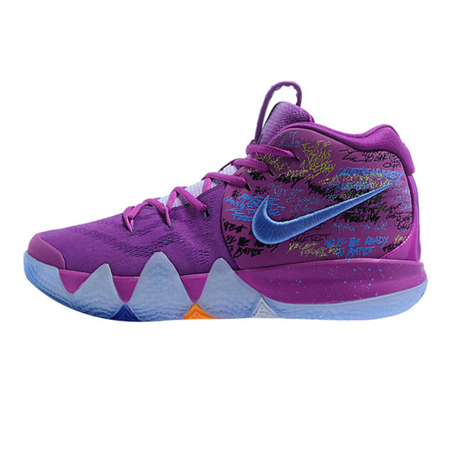 finest selection 24ce8 9a7dd Nike Kyrie 4 Irving 4th Generation Confetti Men's Basketball Shoes,Purple
